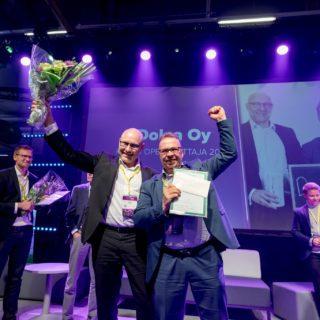 Dolea Oy voitti on Kasvu Openin startup-sarjan voittaja 2019.