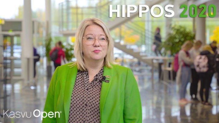 Miksi Hippos2020? Nina Rautiainen vastaa.