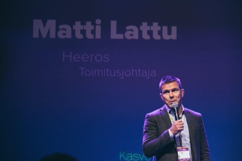 Matti Lattu on Heeroksen toimitusjohtaja.