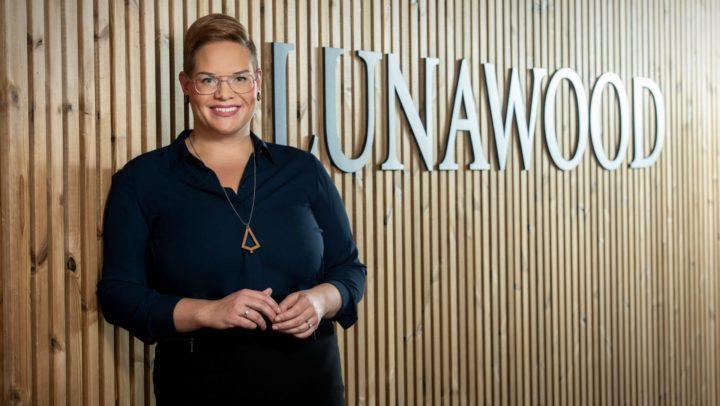 Maija Masalin on Lunawoodin markkinointijohtaja.
