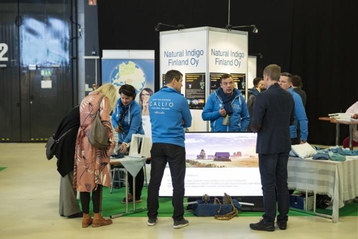 Natural Indigo Finland on osallistunut Kasvu Openiin useamman kerran.